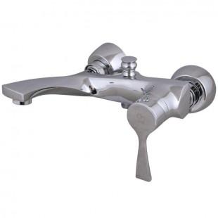 شیر دوش(حمام) کرومات مدل مدیا