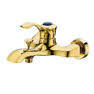 شیر دوش(حمام) کرومات مدل دیاموند طلایی