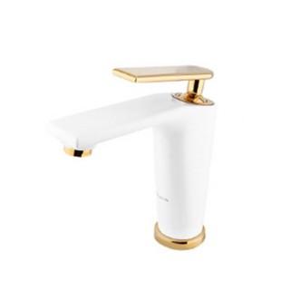 شیر روشویی کسری مدل آمازون شیری طلا
