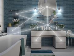 لذت دوش گرفتن در حمامی هوشمند