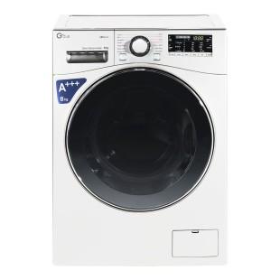 ماشین لباسشویی جی پلاس 8 کیلویی مدل L8645W