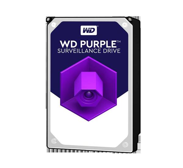 هارددیسک اینترنال وسترن دیجیتال مدل Purple WD2 ظرفیت 2 ترابایت