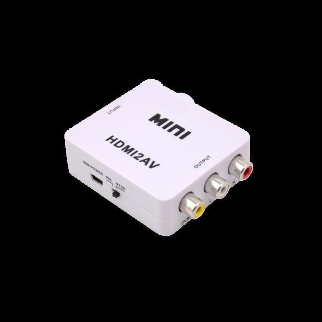 مبدل  HDMI ---->> AV