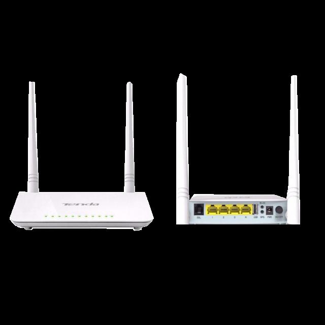 Tenda D301 ADSL2+ Wireless N300 Modem Route