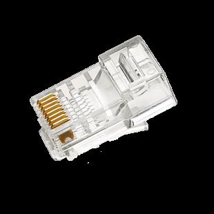 سوکت شبکه Cat6 SFTP برند AMP بسته 100