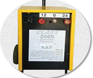دستگاه شارژ و استارتر صنعتی ماشین