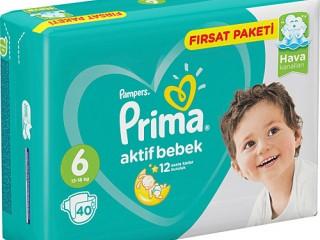 پریما ترک سایز 6/ بسته 40 عددی