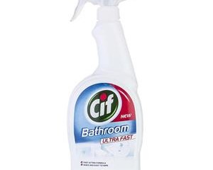 اسپری تمیز کننده سطوح حمام و دستشویی 750میلی سیف Cif