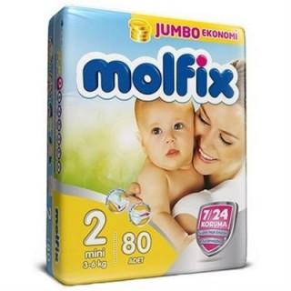 مولفیکس ترک سایز 2 /  بسته 78 تایی molfix
