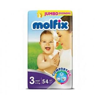 مولفيكس ترك سايز  3  /  54تايي molfix