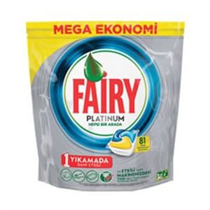 قرص ماشین ظرفشویی پلاتینيوم81 تايي فیري (Fairy)