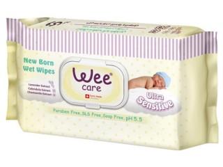 دستمال مرطوب ضد حساسيت نوزادي وي كر  63 برگی