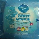 دستمال مرطوب  دافي(Duffy) بسته 20 تايي