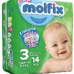 مولفيكس سايز 3 / بسته 14 تايي