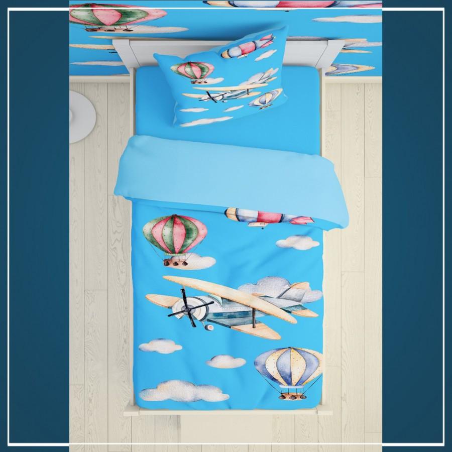 روتختی سه بعدی بالن و هواپیما کد 2068
