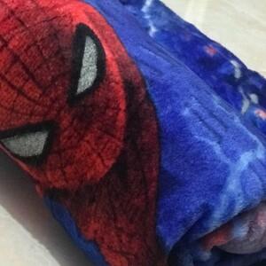 پتو ژله ای مسافرتی یکنفره مرد عنکبوتی 1