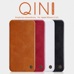 Apple IPhone 11 Pro Max Nillkin Qin Leather Case