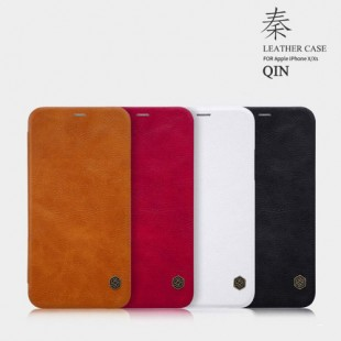 Apple IPhone X / XS Nillkin Qin Leather Case