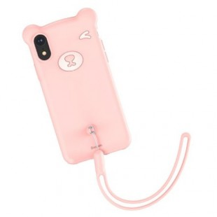Apple IPhone XR Baseus Bear Silicone WIAPIPH61-BE04