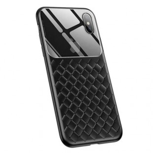 Apple iPhone XS Max Baseus Glass And Weaving Case