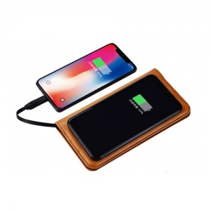 Zhuse ZS-PB-025 Star River 3 Series 6000mAh Power Bank And Leather Bag