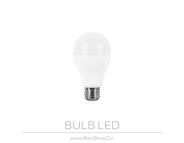 لامپ LED حبابی 15 وات پارس شعاع توس