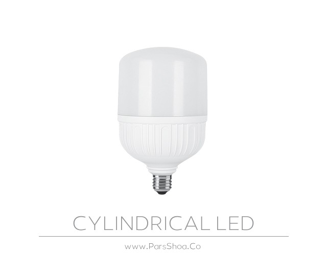 لامپ LED استوانه ای 40 وات پارس شعاع توس
