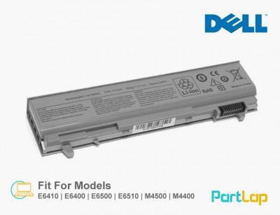 باتری لپ تاپ دل مناسب لپ تاپ Dell Latitude E6410
