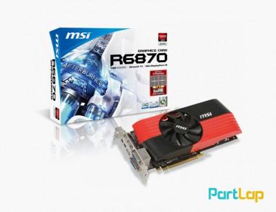 کارت گرافیک ام اس آی مدل MSI Radeon HD 6870 ظرفیت 1GB