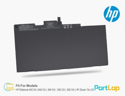 باتری لپ تاپ HP مناسب لپ تاپ HP Elitebook 850 G3