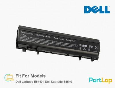 باتری لپ تاپ دل مناسب لپ تاپ Dell Latitude E5540