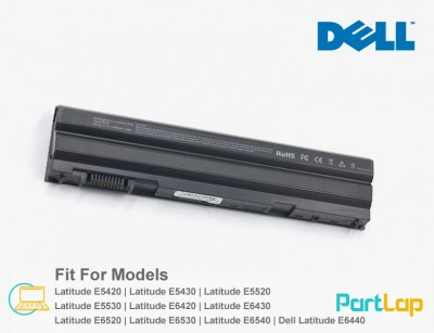 باتری لپ تاپ دل مناسب لپ تاپ Dell Latitude E6530