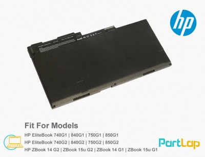باتری لپ تاپ اچ پی Zbook 14G2