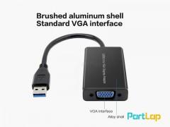تبدیل USB3 به VGA مدل OTN5201 Converter USB 3.0 TO VGA