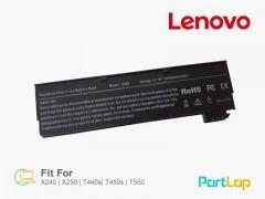 باتری لپ تاپ لنوو مناسب لپ تاپ Lenovo T450s