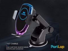پایه نگهدارنده و شارژر وایرلس  Wireless Car Charger X8