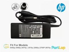 شارژر لپ تاپ اچ پی 19 ولت 4.74 آمپر 90 وات مدل PPP012L-E