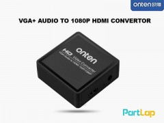 تبدیل VGA به HDMI اونتن مدل OTN-5108 VGA To HDMI With Audio