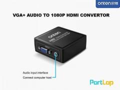 تبدیل VGA به HDMI اونتن مدل OTN-5108 VGA To HDMI With Audio