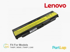 باتری لپ تاپ لنوو مناسب لپ تاپ Lenovo T540p