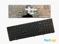 کیبورد لپ تاپ HP مدل EliteBook 8760w