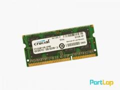 رم لپ تاپ Crucial مدل DDR3 PC3-12800S ظرفیت 4 گیگابایت