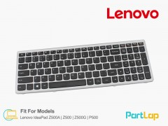 کیبورد لپ تاپ لنوو مدل Lenovo IdeaPad Z500G