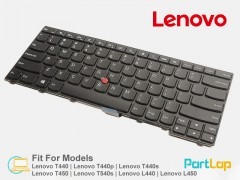کیبورد لپ تاپ لنوو مدل Lenovo ThinkPad T440P