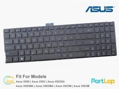 کیبورد لپ تاپ ایسوس مدل Asus X553M