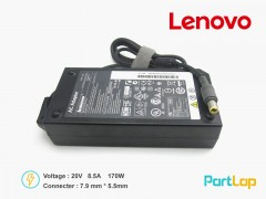 شارژر لپ تاپ لنوو 20 ولت 8.5 آمپر 170 وات