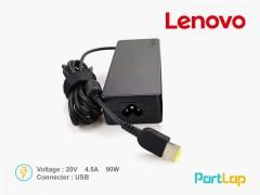 شارژر لپ تاپ لنوو 20 ولت 4.5 آمپر 90 وات مدل  ADLX90NCC2A
