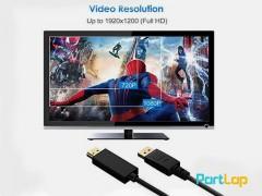 مشخصات ، قیمت و خرید کابل تبدیل Display Port به HDMI کیفیت 4K و طول 1 متر