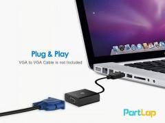 کابل تبدیل Display Port به VGA طول 15 سانتی متر