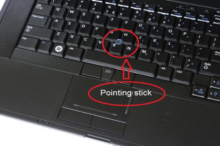 پوینت استیک ، رابط کاربری فیزیکی